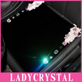 Ladycrystal Car Seat Cushions Personalized DIY Diamond Flowers Seat Covers Auto Car Styling Interior Decoration Accessories