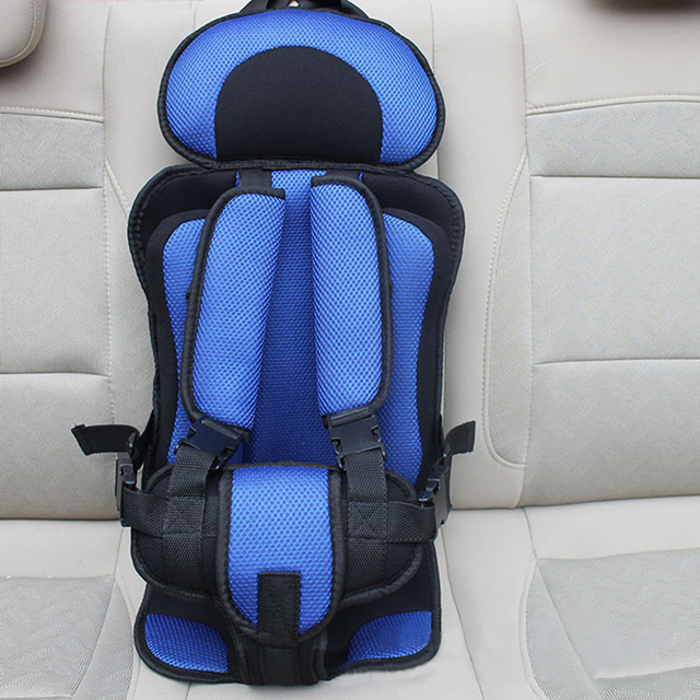 New Child Car Seats Potable Baby Chair Car Adjustable Baby Car Seat  6 Months-5 Years Old Baby Safe Toddler Booster Seat Thicken