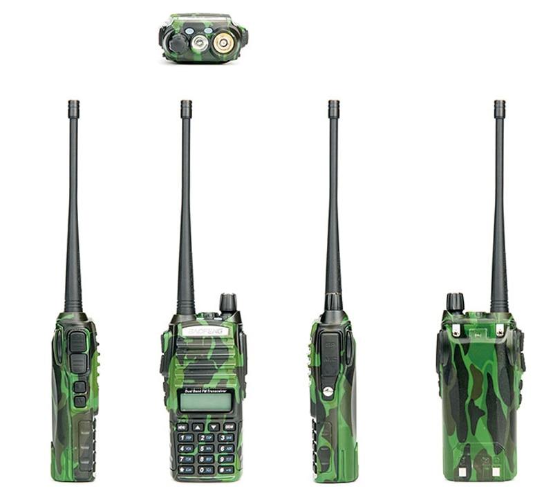 Популярная портативная рация, Baofeng, UV-82, две кнопки PTT, двухстороннее радио Vhf Uhf, двухдиапазонное Baofeng UV 82 UV82, двухстороннее радио