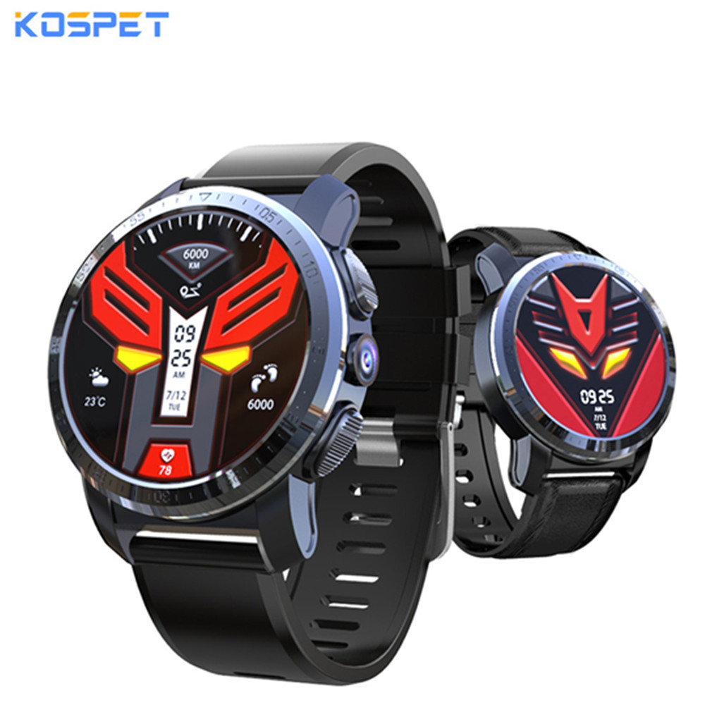 Kospet Optimus/Optimus Pro Smartwatch Phone Android7.1.1 With GPS Dual System 4G WiFi 8.0MP Camera 2GB 16GB/3GB 32GB Smart WatchKospet Optimus/Optimus Pro Smartwatch Phone Android7.1.1 With GPS Dual System 4G WiFi 8.0MP Camera 2GB 16GB/3GB 32GB Smart Watch