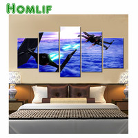 5d Diamond Embroidery Star Wars TIE Fighter X Wing Fighter Diamond Painting Cross Stitch Drill Multi
