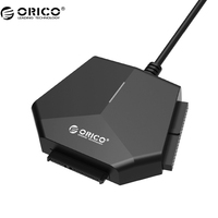 ORICO U3TIS SATA to USB 3.0 Support 2.5/ 3.5 inch SATA IDE CD ROM DVD ROM High speed 12V Power Adapter 30CM Cable Tool free