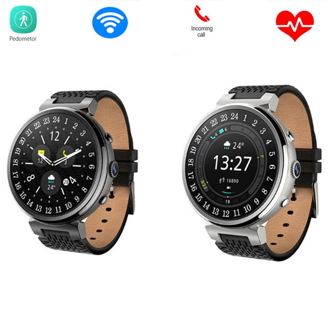 4f6f28f6fad I6 MTK6580 Dispositivos Wearable Relógio Inteligente Bluetooth Smartwatch  Telefone Android 5.1 3G para IOS