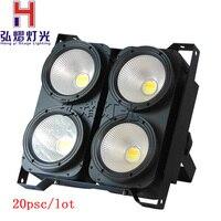 (20 штук) hongyi/Stage Освещение светодиодный удара номинальной 4X100 Вт светодиодный без Шум 2/6/12 Каналы Disco И Вечерние