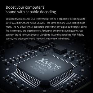 Image 4 - FiiO K3 Amplificatore Per Cuffie Portatile DSD DAC USB per PC, Supporto COASSIALE/OTTICA/EQUILIBRIO di 2.5