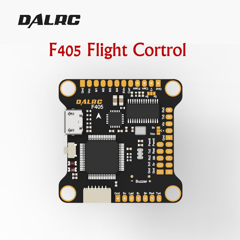 hight resolution of dalrc f405 f4 flight controller with mpu6000 gyro supports 8k refresh rate operation built in