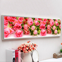 ROSE Flower Picture 3D Diy Diamond Painting Cross Stitch 5d Diamond Embroidery Home Decor Diamond Mosaic