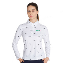 Adidas Women's Golf Apparel Long Sleeve T-Shirt Generous Breathable Comfortable 2016 NEW