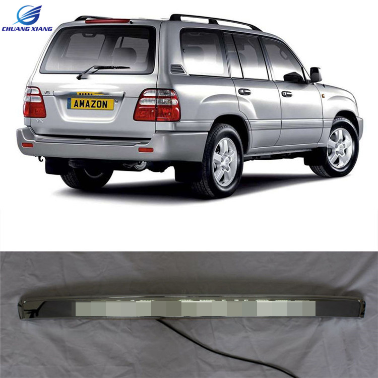 Chuangxiang Porte Couverture Arrière Du Couvercle de Coffre Avec Led Lumière Styling Couverture Pour Toyota Land Cruiser LC100 Accessoires 1998- 2007