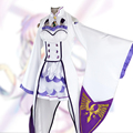 Re: Zero Kara Hajimeru Isekai Seikatsu Emilia Life in a Different World from Zero Cosplay Costume Clothes Uniform