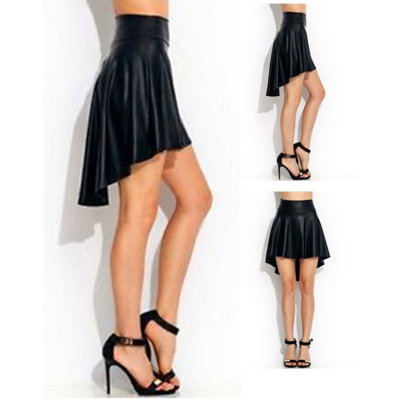 Aliexpress.com : Buy Women Girl Sexy Slim High Waist Faux Leather ...