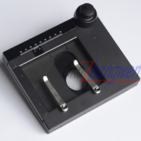 FYSCOPE Best sale,top quality Microscope XY stage / X Y Moving stage/ used for Inspection microscopes 55X75MM