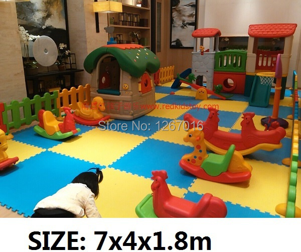 2015 Simple Playground Set/Shopping Mall Small Kids Play Center ...