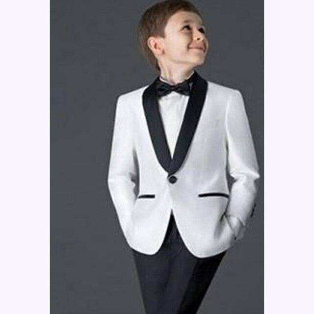 d99d1077a9d1c € 52.68 |2018 trajes de niños skim para bodas niños traje esmoquin nuevo  chico/blanco niño boda trajes de graduación blazers para niños ...