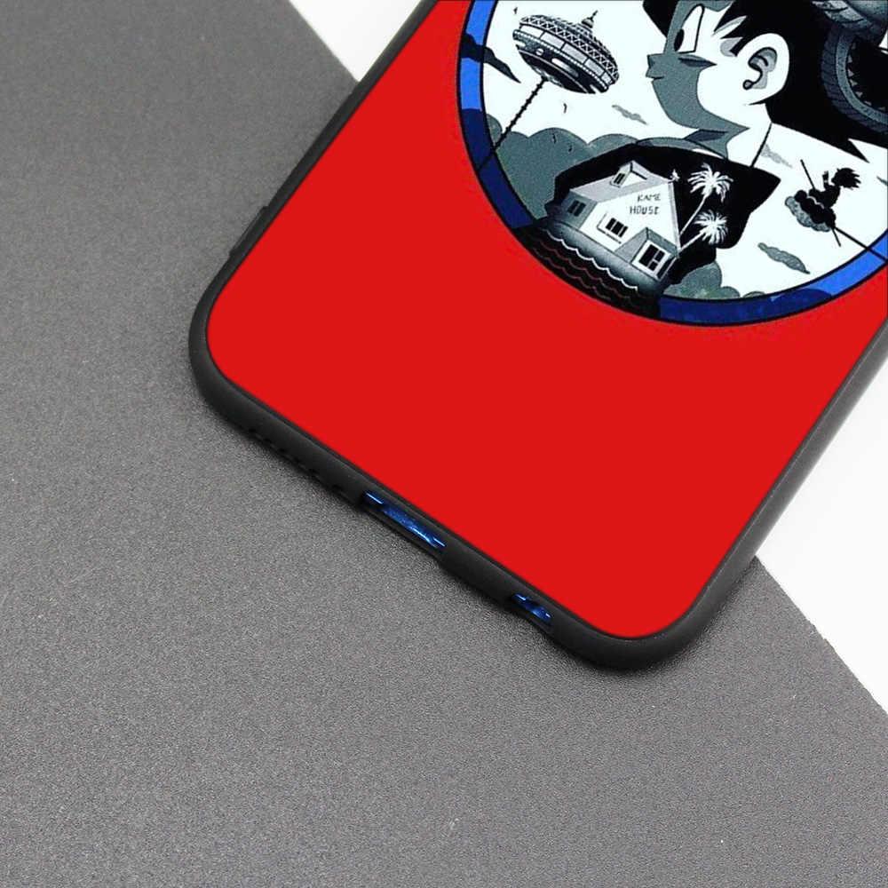 Silicone Case Cover for Huawei P20 P10 P9 P8 Lite Pro 2017 P Smart+ 2019 Nova 3i 3E Phone Cases Dragon Ball Z Anime Goku Super D