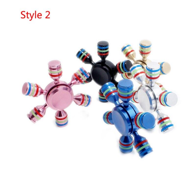 3 styles Nice Bearing Rainbow Fid Spinner Finger Spiner Hand