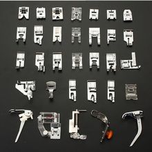 Главная Швейные Машины Прижимную Лапку Ноги Kit Набор 32 шт. Для Brother Singer Janome Швейные Инструменты & Аксессуары Горячее Надувательство