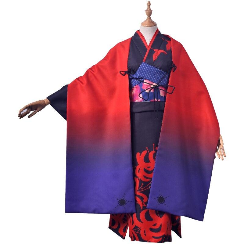 Asagami Fujino Fate/Grand Order Cosplay Asagami Fujino cosplay costume kimono cosplay 1