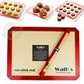 Walfos бренд противень лайнер антипригарным силиконовый коврик для выпечки антипригарным выпечки Cookie лайнер коврик для выпечки формы для выпечки Кухня инструмент - фото