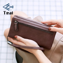 2019 New Fashion women wallet zipper Purse Multifunction Womens Card Holder Long Wallet