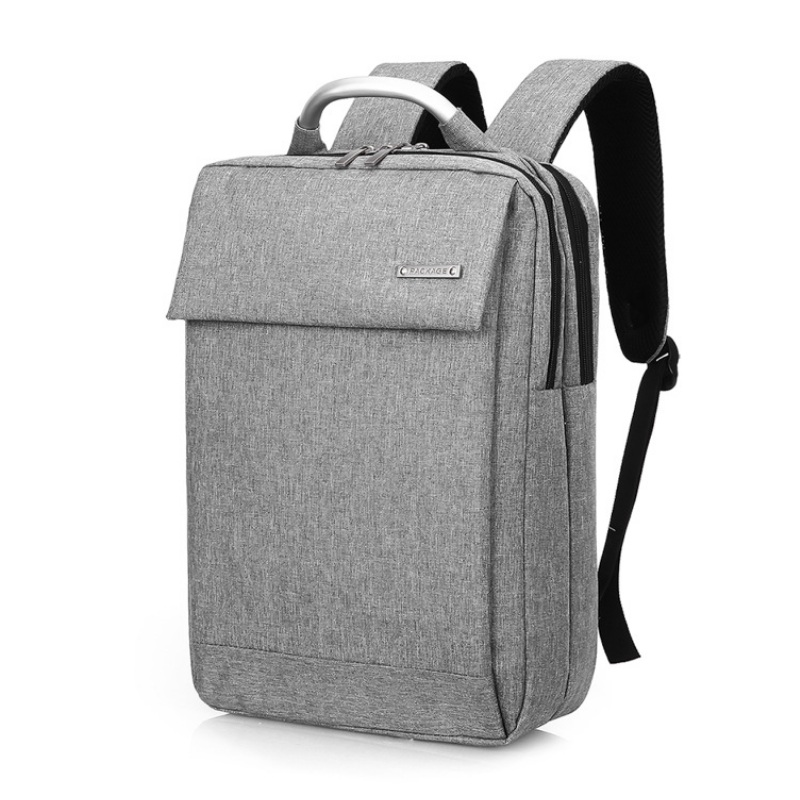 Men Polyester Business Laptop Backpack Student Waterproof Mochila Notebook Computer School Bag Male Travel Rucksack 14 15.6 Inch ozuko 14 inch laptop backpack large capacity waterproof men business computer bag oxford travel mochila school bag for teenagers