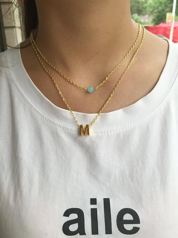 Letter necklace pendants 100 images bracelets jordan s jewelry letter necklace pendants fashion charm gold letter m necklace pendant for women simple light letter necklace pendants mozeypictures Images