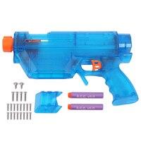 WORKER Shell Set For Nerf Retaliator Transparent Blue