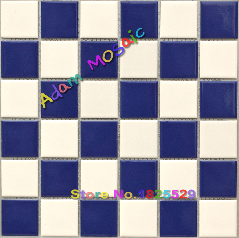 pool tile for bathrooms blue white mosaic tiles bathroom wall subway ...