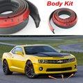 For Chevrolet Camaro / Car Bumper Lip / Make car lower Body Kit / Front / Rear Skirt Spoiler / Bumper Deflector Rubber Strip