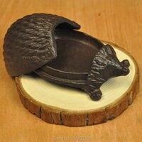 استعادة سبل القديمة الحديد تأثيث السقيفة ليتل صناديق المجوهرات مربع صندوق معدني الزخرفية صناديق التخزين 10.5*6.8 سنتيمتر