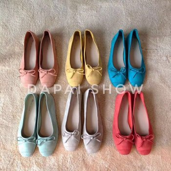 DONLEE QUEEN 2019 Summer Flats Ballet Shoes Women Slip On Loafers Round Toe Shallow Bowtie Ballerina Soft Moccasin zapatos mujer 2017 summer spring women ballet flats round toe slip on shoes woman flower bowknot loafers vintage zapatos mujer canvas