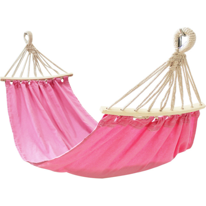 Childrens Hammocks Outdoor Swings Hammocks Single Color Hammock High Quality Fabric Anti-rollover Design for Children FurnitureChildrens Hammocks Outdoor Swings Hammocks Single Color Hammock High Quality Fabric Anti-rollover Design for Children Furniture