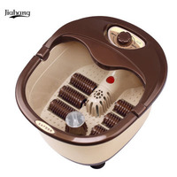 Fully automatic with heated electric foot massage foot bath pail