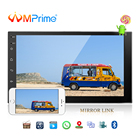 AMPrime 7'' Android 2 Din Car Multimedia Player Universal GPS DAB Car Radio Touch Screen Stereo Audio Player Support Mirror Link