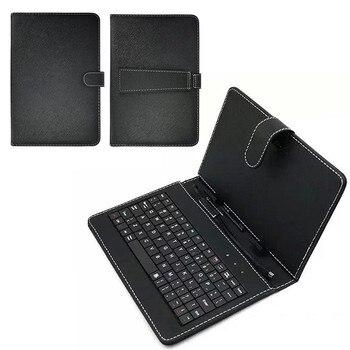 Новая клавиатура пылезащитный черный PU + PC кожаный чехол с подставкой для планшет yuntab 10,1 дюймов со встроенной USB проводной клавиатурой