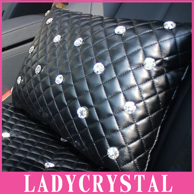 Ladycrystal Seat Cover Space Cotton Lumbar Support Car Seat Cushion Tournure Back Cushion Waist Support Cushion Lumbar Pillow