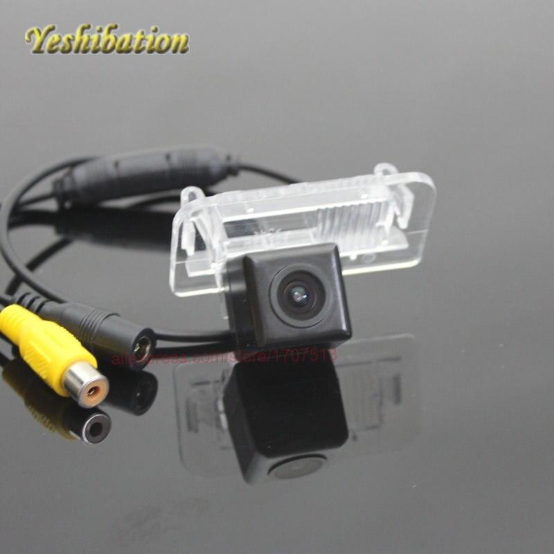 Car Rear Camera For Mercedes Benz E Class W210 Reversing Park Camera / High Definition / License Plate Light DIY