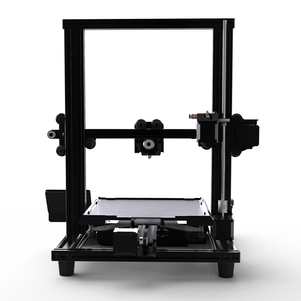 V-slot Lebenslauf Stromausfall Druck Diy Kit Brutstätte 3-d-drucker Creality 3d Drucker Ender-3/ender-3x Verbesserte Gehärtetem Glas Optional 3d-drucker Und 3d-scanner