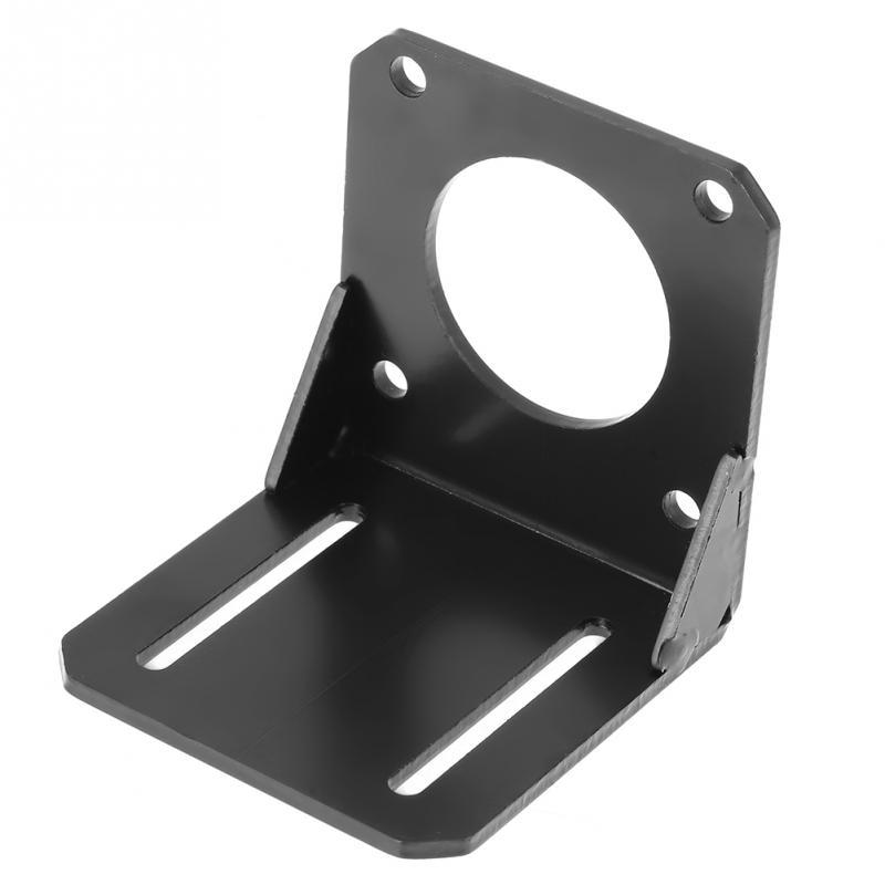 1 Stück Schwarz Edelstahl Montage Halterung Halter Rack Für 57 Nema23 Stepper Motor