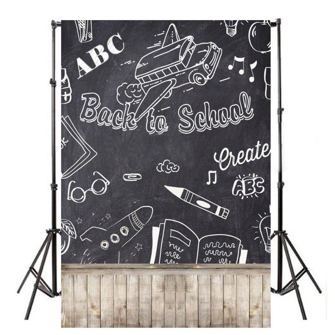 Mayitr 1pc 3x5ft Back School Photography Background Lightweight Vinyl Chalkboard Backdrops For Photo Studio Props retro background christmas photo props photography screen backdrops for children vinyl 7x5ft or 5x3ft christmas033