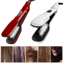 New Harmless Smoothing Brush Ceramic Hair Straightener Comb Easy Hair Makeup Brush Beauty Steam Comb For Hair style