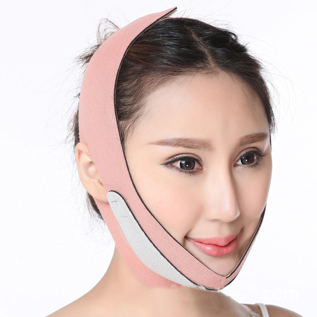 Ultra Thin Smooth Face Slimming Belt Cheek Lift Up Sleeping Anti Wrinkle Sagging Strap V Face Line Belt Chin Slim Mask T226OLE