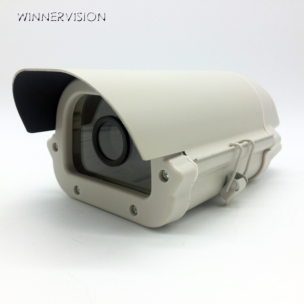 6inch CCTV Camera Box Housing Outdoor Case Waterproof Enclosure Aluminium Alloy Cover with lens cutout cctv camera waterproof outdoor housing array led light cctv camera aluminium alloy metal case cover