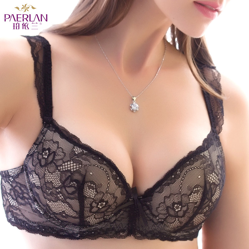 c063f16975 Detail Feedback Questions about PAERLAN sexy lace side female bra European  and American two breasted small chest Push Up thick adjustment beauty back  ...