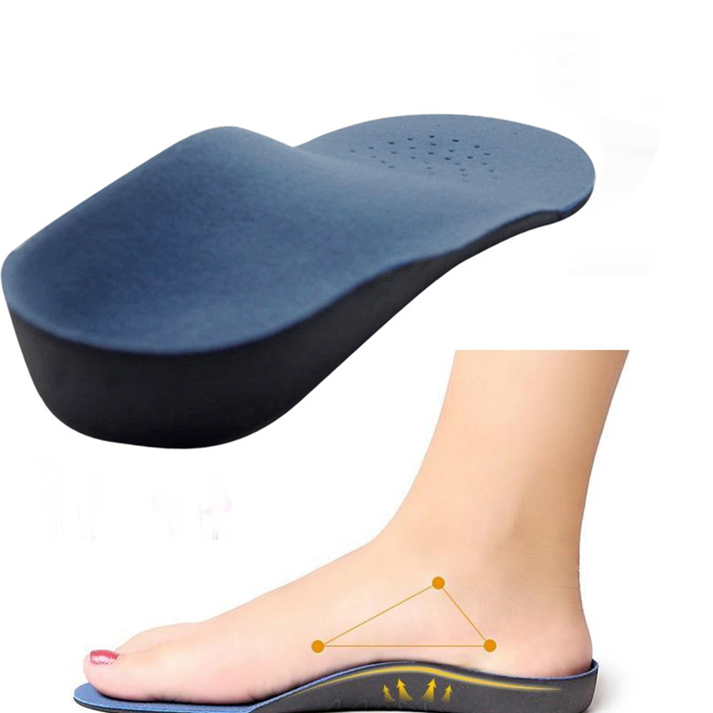 Unisex Health Orthopedic Insole For Flat Foot Orthotics Man And Women Shoes Arch Support Cushion Feet Care Insert Pad Sole #0910