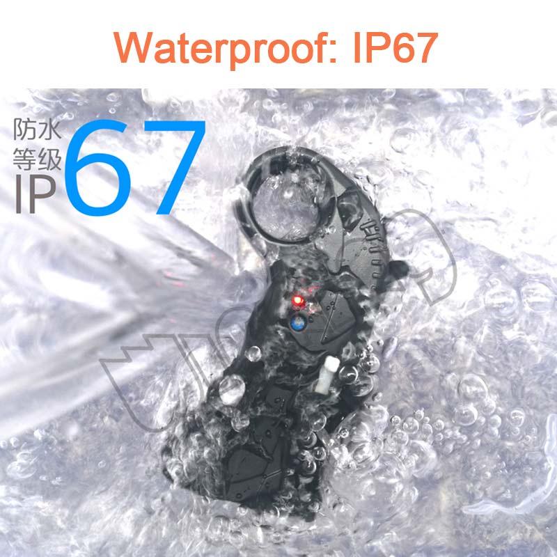 Wasserdichte 2,4G fernbedienung wireless charging für elektrische skateboard surfbrett hydrofoil e folie U förmigen hufeisen rettungsring-in Teile & Zubehör aus Spielzeug und Hobbys bei  Gruppe 2