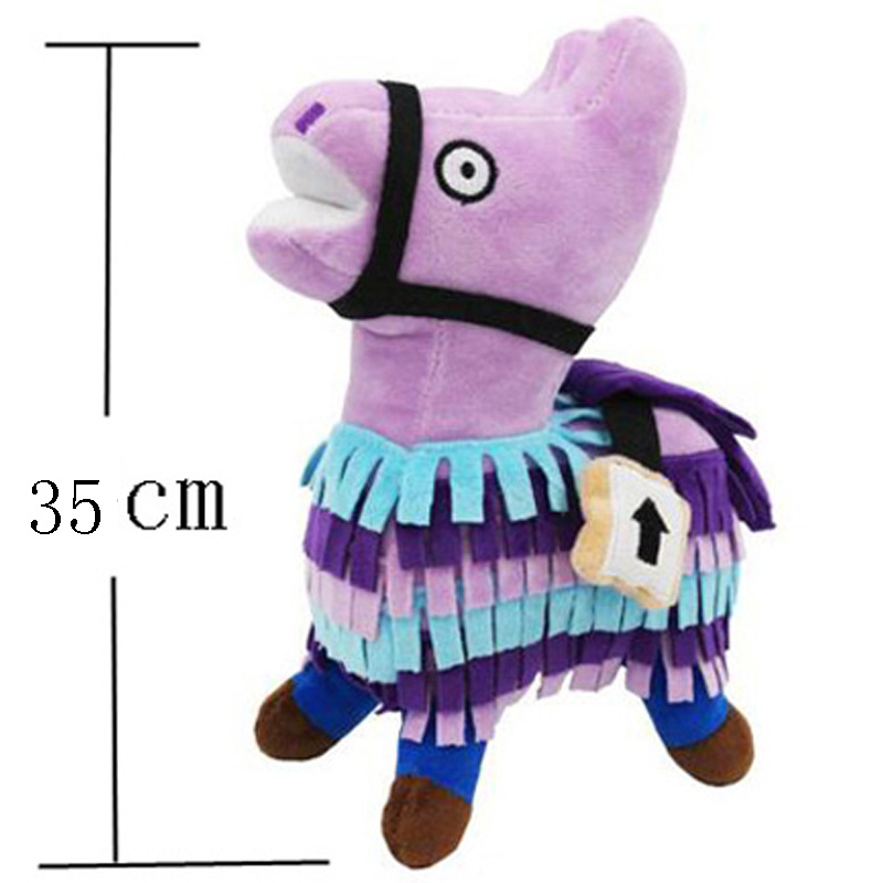 Troll Stash Llama Plush Toy 30cm Soft Stuffed Doll hot game troll stash llama plush baby toy soft alpaca rainbow horse stash stuffed doll toys kids birthday gift friends