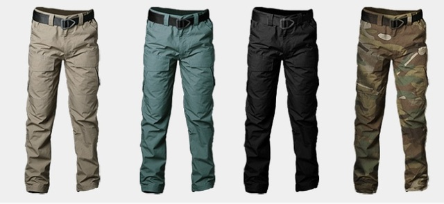 Workpants Waterproof Tactical Cargo Pants Mens Loose Fit Cotton Casual Military Army Cargo Camo Combat Work Pants Belt excluded