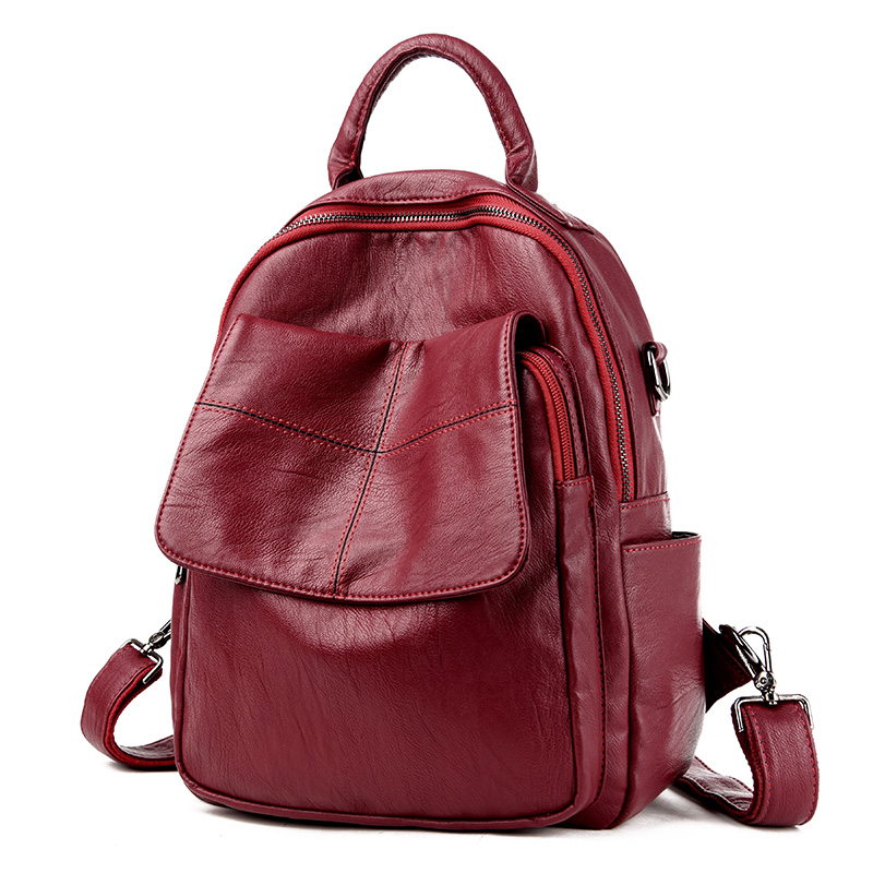 Women Bag Famous Brand Leather Bags Women Backpack Preppy Style Fashion School Bag For Teenage Girls Travel bags bolsa mochila dusun women high quality oxford backpack brand design mochila women school bag for teenage girls fashion women backpack hot sale