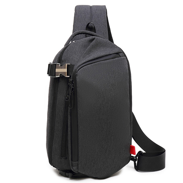 Men Chest Bags Male Shoulder Crossbody Bag Messengers Business Travel Waterproof Bolso Cross Body Sunglasses Strap Summer Packs